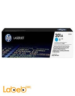 HP 201A LaserJet Toner Cartridge - Cyan color - CF401A