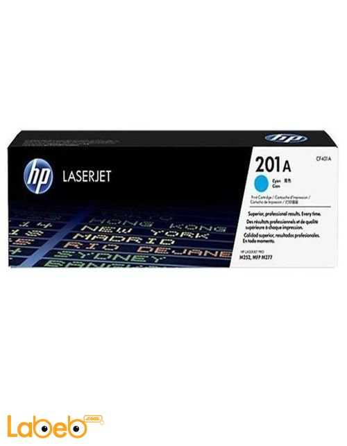 HP 201A LaserJet Toner Cartridge Cyan color CF401A