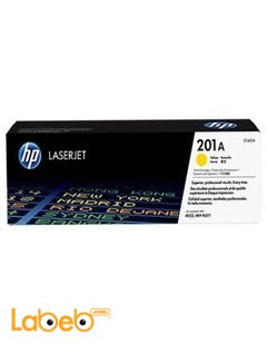 HP CF402A  LaserJet Toner Cartridge - Yellow color - 201A