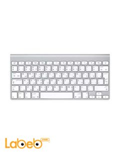Apple Wireless Arabic Keyboard - Silver color - MC184AB/C model