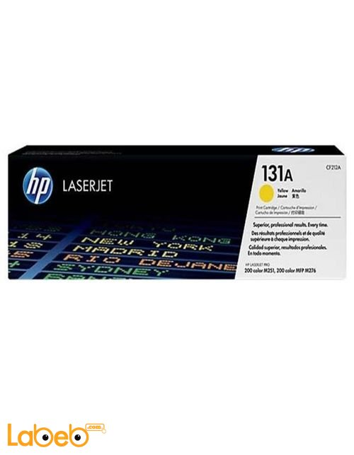 HP 131A LaserJet Toner Cartridge Yellow color CF212A