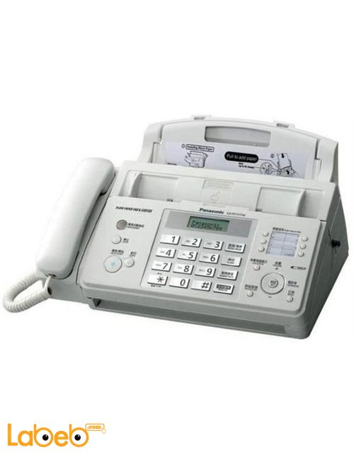 Panasonic Laser Fax/Copier Machine White color KX-FP712CX-W model