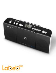 Toshiba CD Radio with Bluetooth - 13W - Black - TY-CWU25(K)BS