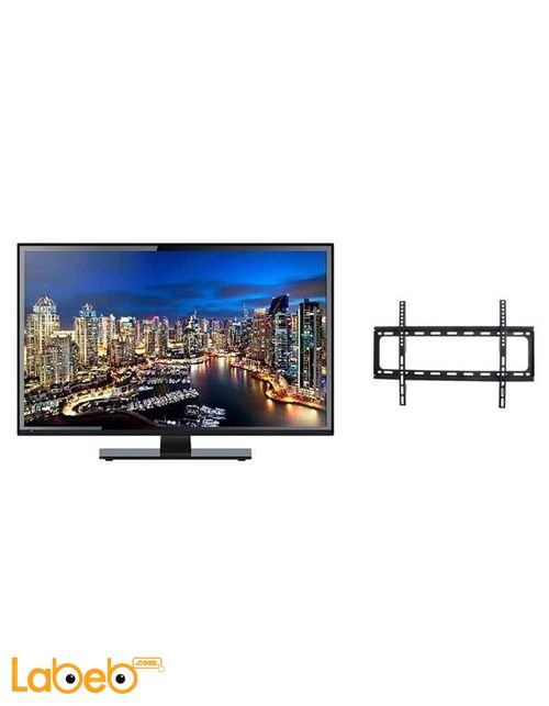 تلفزيون برافو PSW698MF + حامل حائط للتلفزيون موديل BLE48E8861