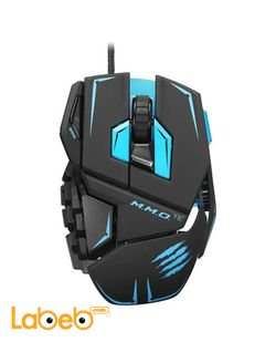 Mad Catz Edition Gaming Mouse -PC and Mac -Black color - PC-TE-MATTE