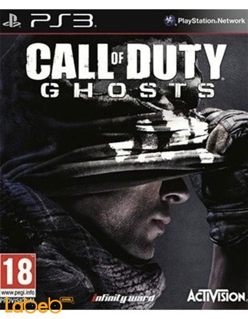 Call of Duty Ghosts PS3 Game 11/2013 ABP31488 model