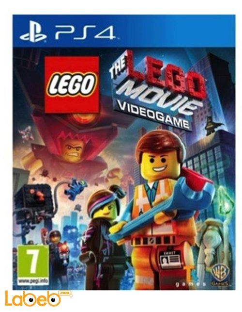 Lego Movie Videogame PS4 Game 2/2014 model SOFT-PS4-WBP40004