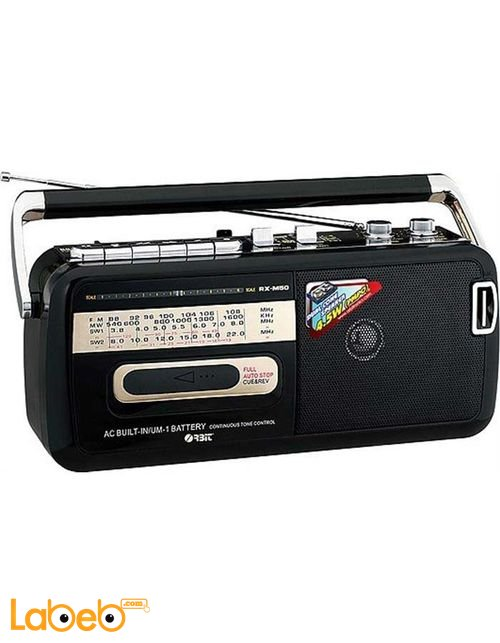 Panasonic Radio Cassette Recorder with FM/MW/SW1/SW2 RX-M50