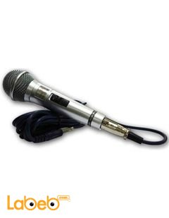 Magic Sing Corded Microphone - black color - LH-210 model