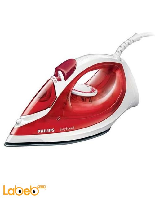 Philips EasySpeed 1200W Steam Iron red color model GC1017/26
