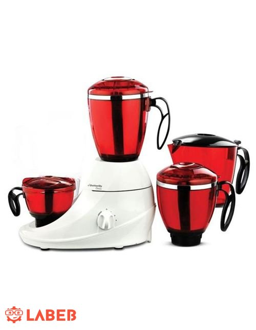 Butterfly Desire Blender 750Watt White/ Red model DESIRE