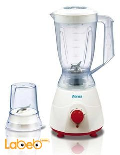 Wansa Super Blender 2 in 1 - 300 Watt - 1.5 L - White - FB-2002 Model