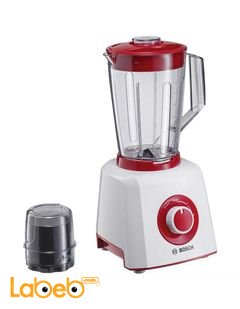 Bosch Liquidiser & Blender - White/Red - model MMB12P4RGB