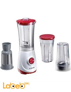 Bosch Liquidiser & Blender 350W - White/Red - model MMBM1P6RGB