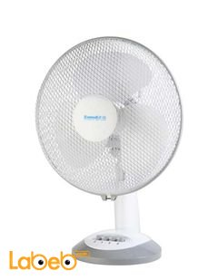 Bravo 9-inch 35 Watt Desk Fan - White color - model AF-2502