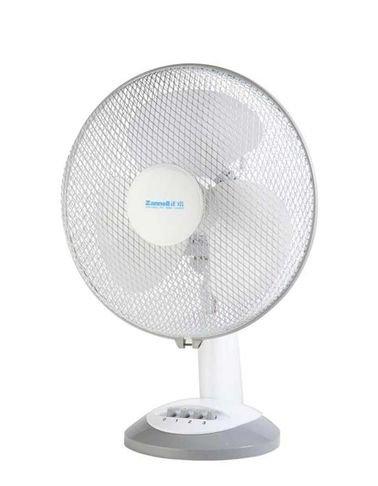 Bravo 9-inch 35 Watt Desk Fan - White color - model AF-2502