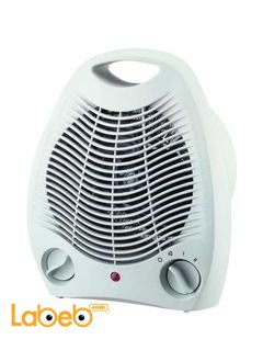 Wansa 500W Electric Fan Heater - Stainless Steel - model AE-3001