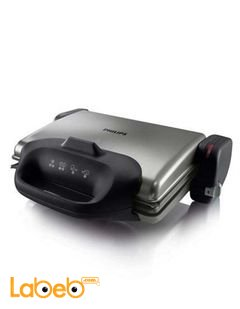 Philips Digital Health Grill 3-Grill position 2000W - model HD4407/20