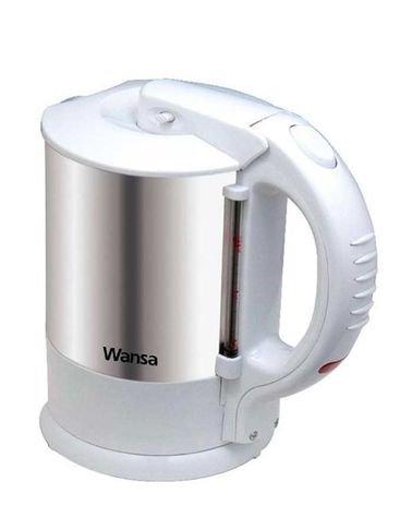غلاية كهربائية من وانسا 1.5 لتر 2200 واط أبيض موديل TK-1001