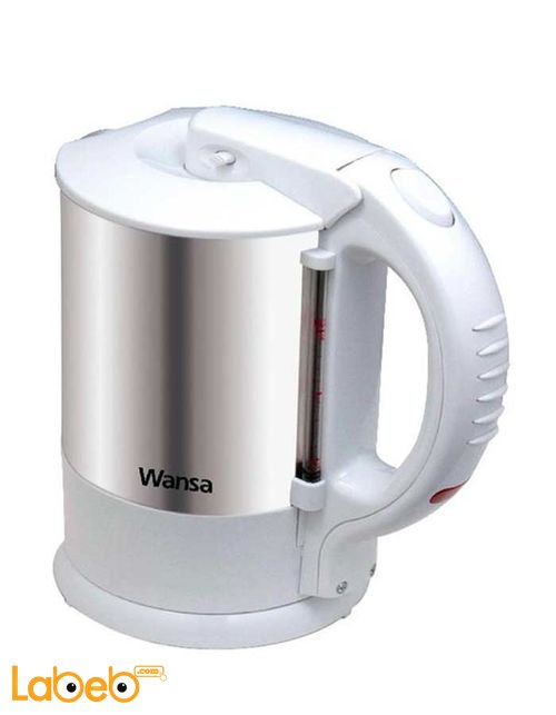 Wansa Cordless 1.5 Litre 2200 Watt White model TK-1001