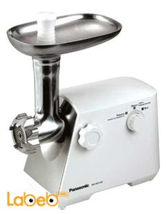 Panasonic Meat Grinder 1500 W - model MK-MG1500WTZ