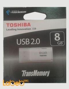 فلاش USB توشيبا - ذاكرة 8 جيجابايت - THNU08HAYWHT6