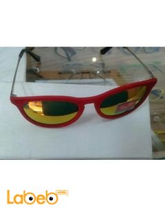 Copy rayban sunglasses - red frame - yellow lenses - RB 4171