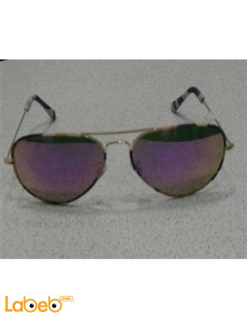 Copy ray ban sunglasses gold frame purple lenses copy 1
