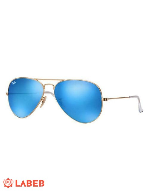 ae199d362 Original ray ban sunglasses, gold frame, blue lenses, RB 3025