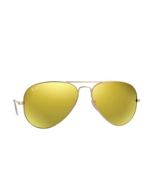 Original ray ban sunglasses gold frame gold lenses RB 3025