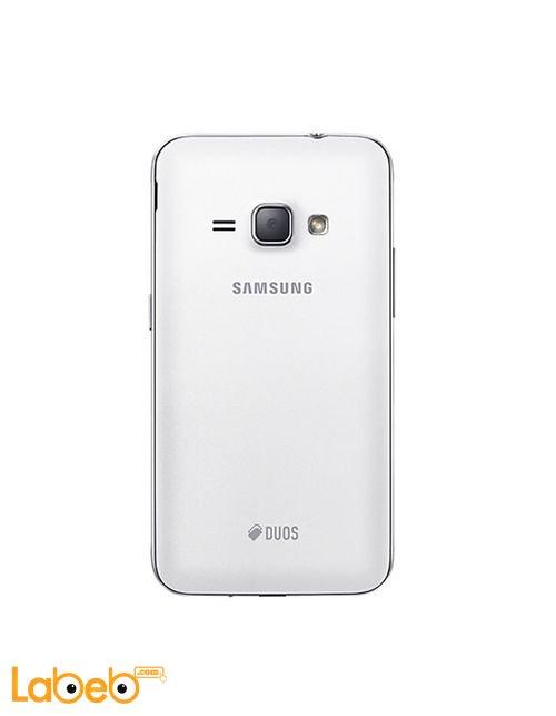 خلفية جلاكسي (2016) J1 أبيض 8GB