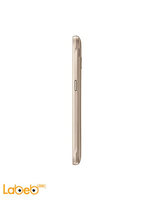 Samsung Galaxy J1 (2016) smartphone side Gold
