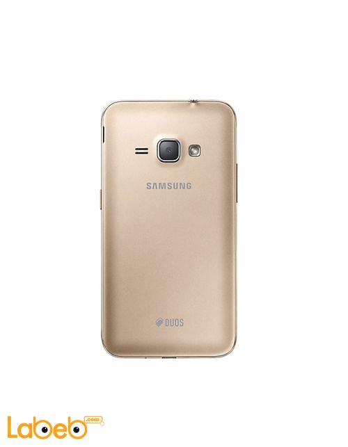 Samsung Galaxy J1 (2016) smartphone back Gold