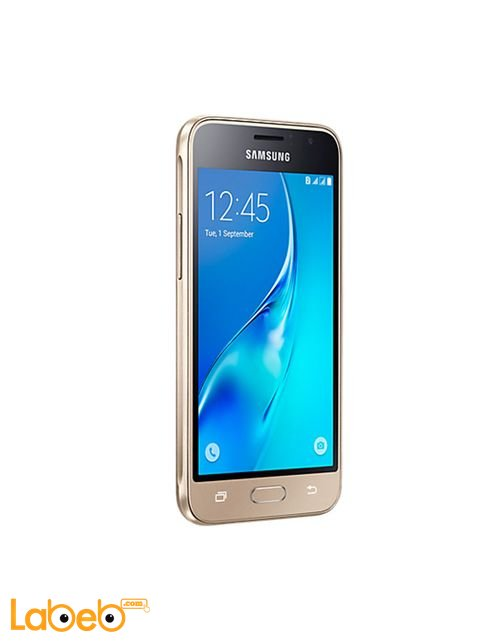 Samsung Galaxy J1 (2016) smartphone screen Gold