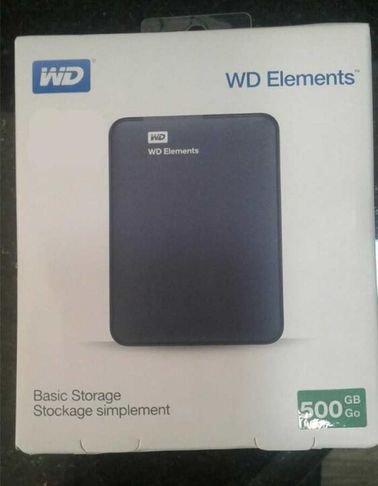 هارديسك محمول وسترن ديجيتال WDBUZG5000ABK