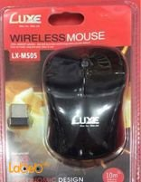 LUXE Wireless Mouse 10m 2.4Ghz black LX-MS05 model