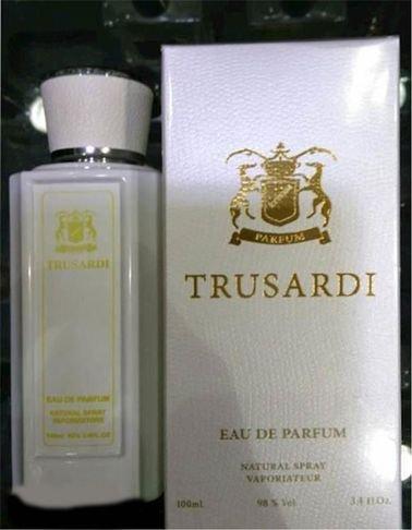 Trusadi perfume for women 100ml Concentration 85% White