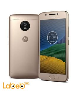 Moto G5 Smartphone - 16GB - 5 inch - Gold Colour