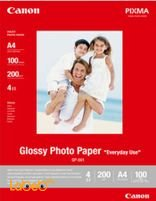 Canon Glossy Photo Paper 4 stars 200 gsm GP-501 A4 Model