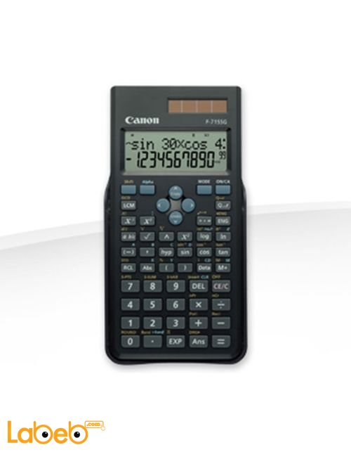 Canon calculator Up to 16 digit 2-line LCD display Black F-715SG