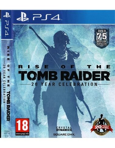 Rise of the Tomb Raider playstation 4 game - for 18+ age