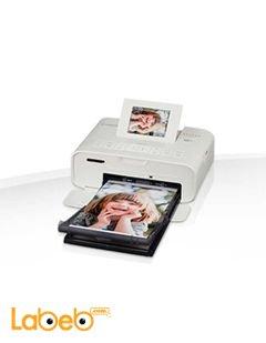 طابعة صور لاسلكية من كانون - لون أبيض - موديل Selphy CP1200