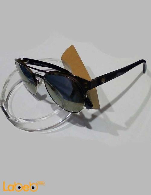 نظارات شمسية Vintage للرجال إطار أسود عدسة سوداء موديل VTH13