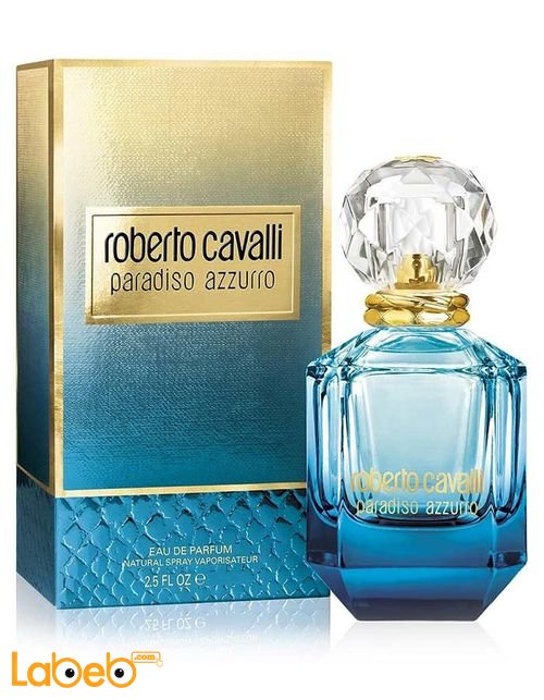 ROBERTO CAVALLI Parfum for women 75ml Paradiso Azzurro model