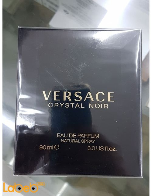 Versace perfume for women 90 ml Black crystal