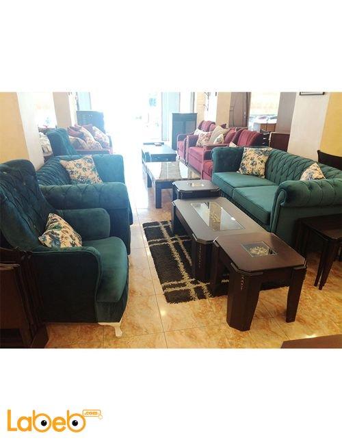 Sofa Set 7 seats Triple dual and 2 Individual Turquoise