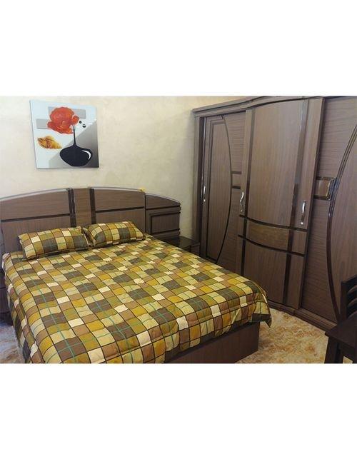 Bedroom 7 pieces Beech wood Egyptian industry Brown color