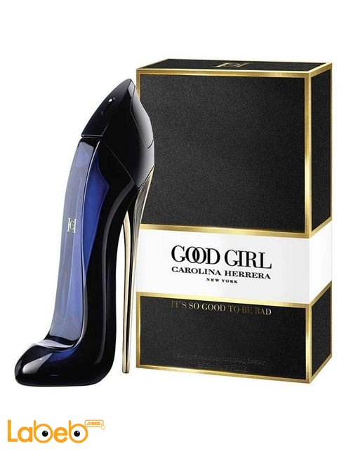 Good Girl Perfume Suitable For Women 80ml Black Color