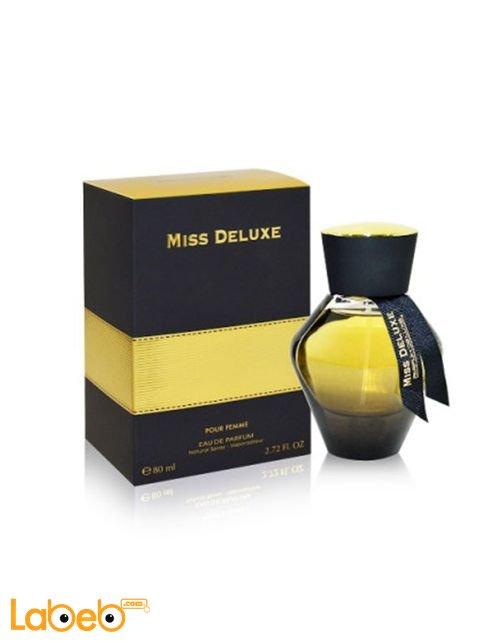 عطر مس ديلوكس مناسب للنساء 80 مل لون أسود