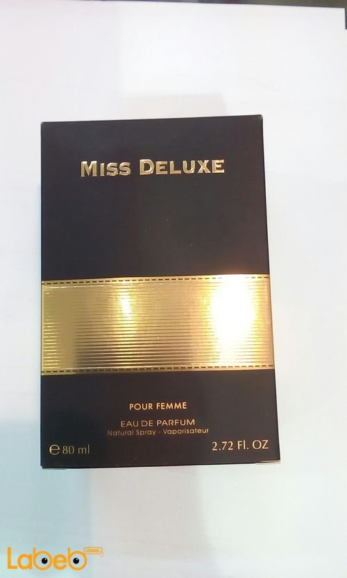 Miss Deluxe perfume for women 80ml Black